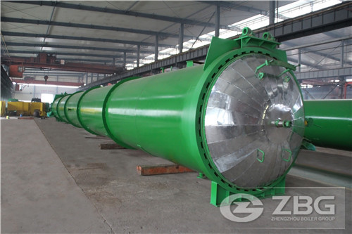 industrial autoclave in India for AAC plant