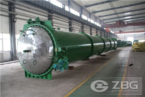industrial steaming autoclave