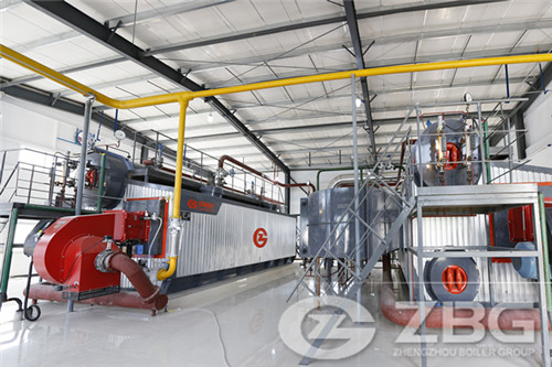 SZS oil and gas fired boiler exported to Vietnam-ZBG Boiler
