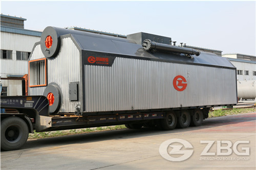 SZL series coal/biomass chain grate boiler for sale
