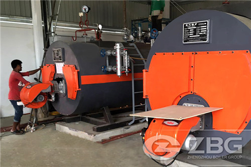 Use of a steam boilers in the paper industry-ZBG Boiler