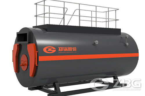 5 ton natural gas three pass steam boiler for sale