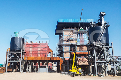 SHX Series CFB Steam  Boiler