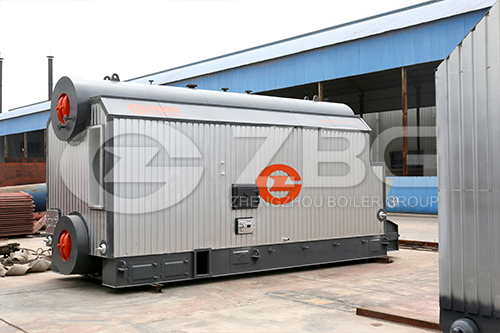 SZL Assembled Chain Grate Coal Fired  Boiler