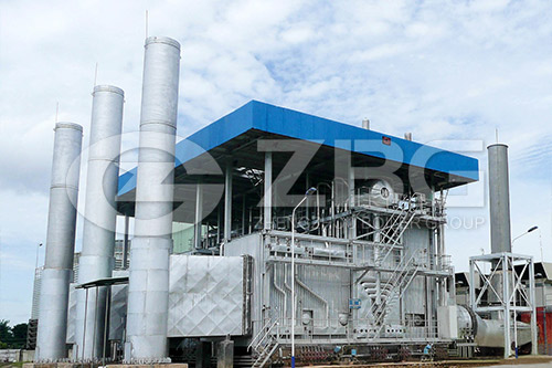 Waste Heat Recovery Boiler of Hazardous Waste  Incineration