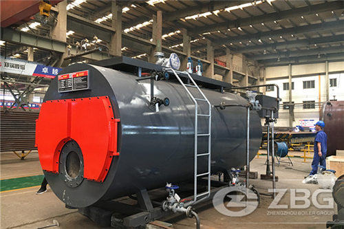 4 ton natural gas steam boiler in Colombia palm oil mill